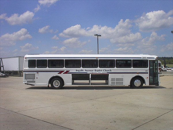 Commercial Bus Paratransit Bus Shuttle Mid Size Bus