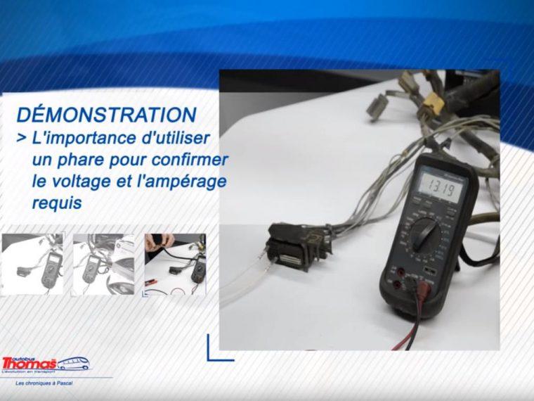 Utiliser un phare pour tester le circuit électrique